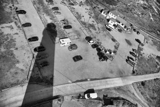 Car park at noon