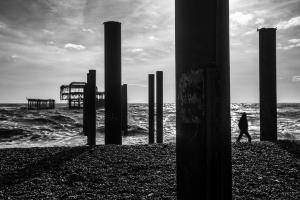 West Pier after the storm