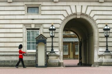 At the palace