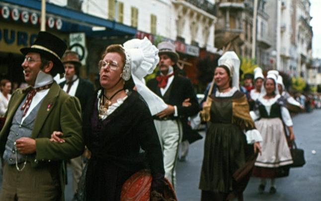 Vichy parade