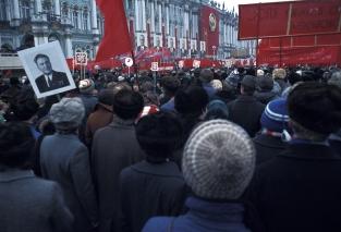 October revolution parade