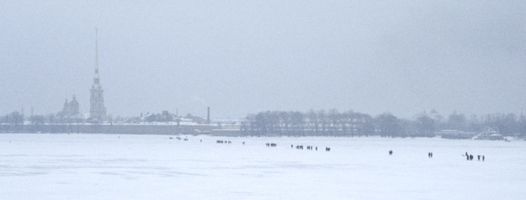 Crossing the Neva