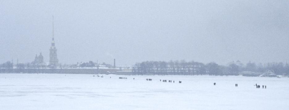 Crossing the Neva