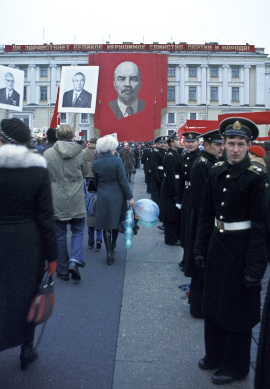 October revolution parade